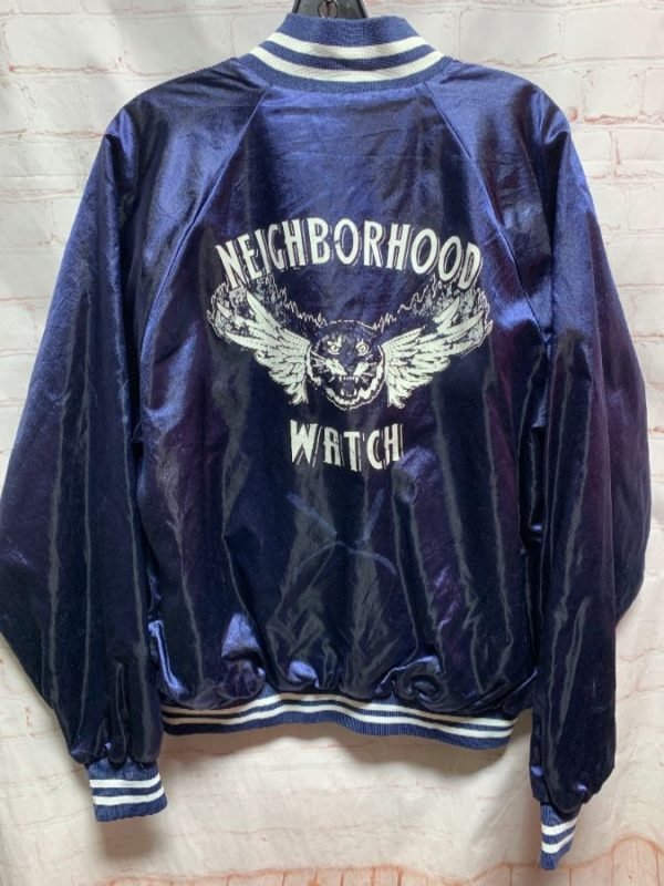 product details: SHINY SATIN BOMBER JACKET NEIGHBORHOOD WATCH CREW photo