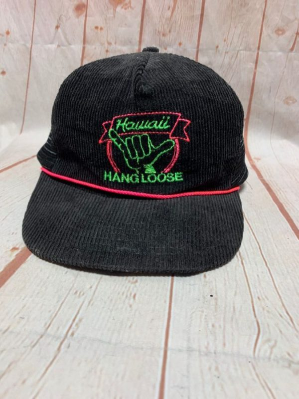 HANG LOOSE – HAWAII CORDUROY HAT W/ SNAP-BACK