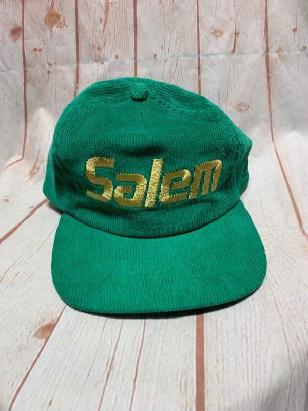 CORDUROY TRUCKER HAT W/ SALEM EMBROIDERED LOGO