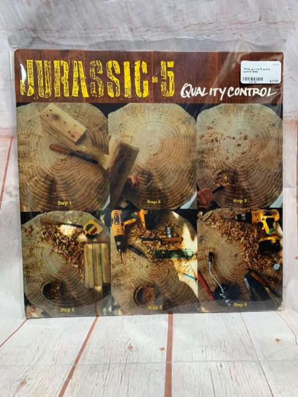 VINYL RECORD – JURASSIC 5 – QUALITY CONTROL – SINGLE