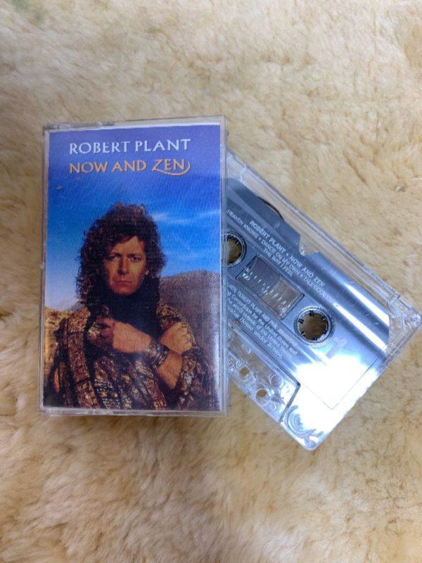 CASSETTE TAPE – ROBERT PLANT – NOW & ZEN