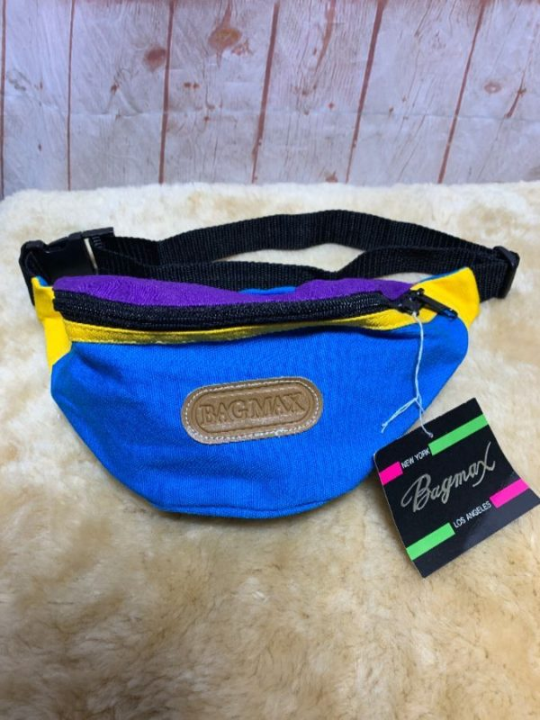 FANNY PACK BAG MAX COLOR BLOCK DEADSTOCK