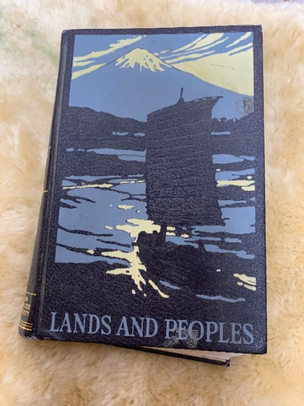 BOOK – LANDS & PEOPLES – SOUTHERN ASIA & THE FAR EAST