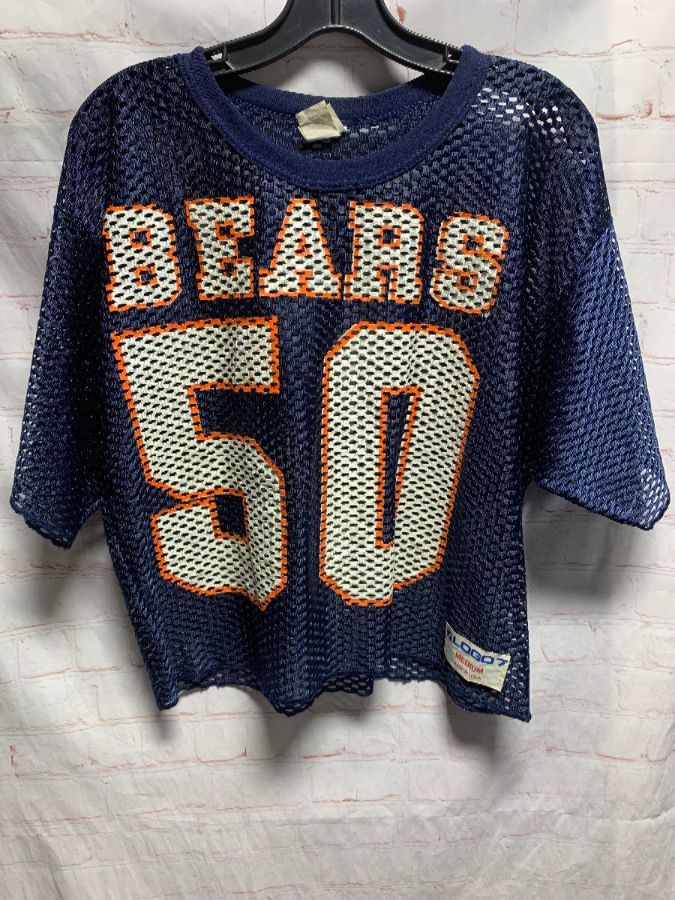 innovative design 632a3 c458e RETRO CROPPED CHICAGO BEARS PRACTICE JERSEY #50