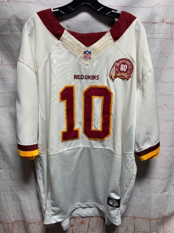 NFL FOOTBALL JERSEY WASHINGTON REDSKINS #10 GRIFFIN III