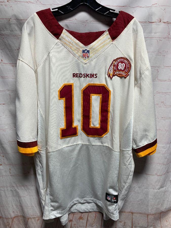 newest bf6da bda7e NFL FOOTBALL JERSEY WASHINGTON REDSKINS #10 GRIFFIN III