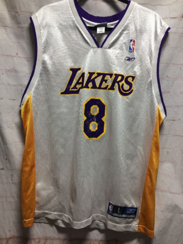 NBA LOS ANGELES LAKERS #8 BRYANT BASKETBALL JERSEY