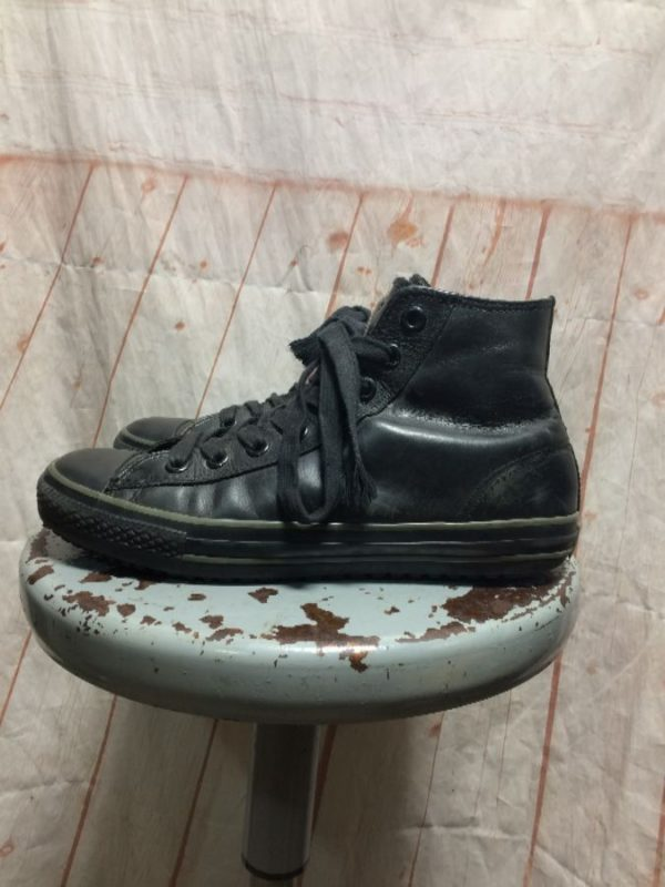 product details: HIGH-TOP LEATHER SNEAKERS CHUCK TAYLOR LACE-UP photo