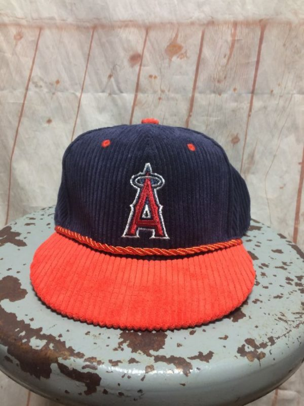BASEBALL CAP CORDUROY LOS ANGELES ANGELS W/ SNAP-BACK