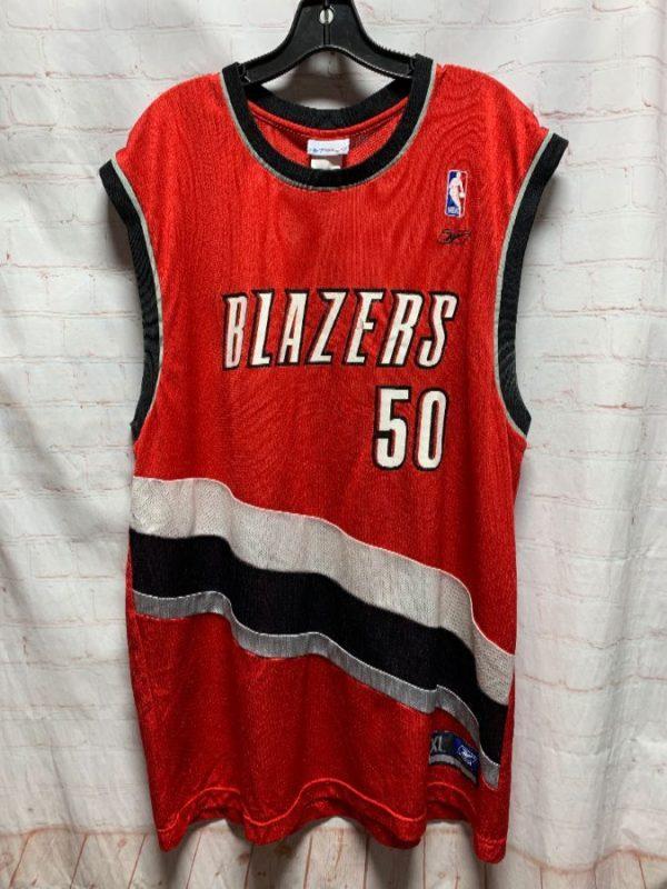 product details: NBA BASKETBALL JERSEY PORTLAND TRAIL BLAZERS RANDOLPH #50 photo