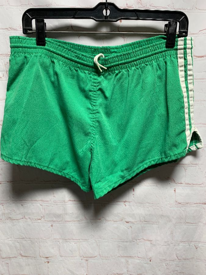 buy online c1698 f64b0 RETRO COTTON LINED RUNNING SHORTS W  SIDE STRIPES