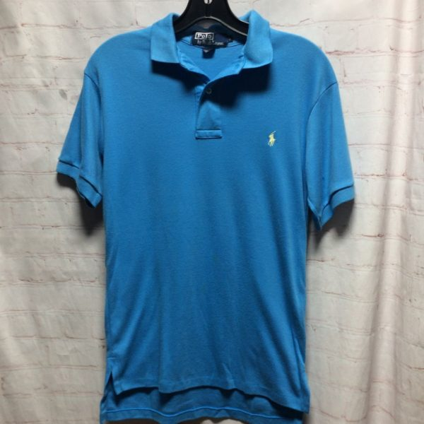 SUPER SOFT POLO SHIRT W/ EMBROIDERED LOGO