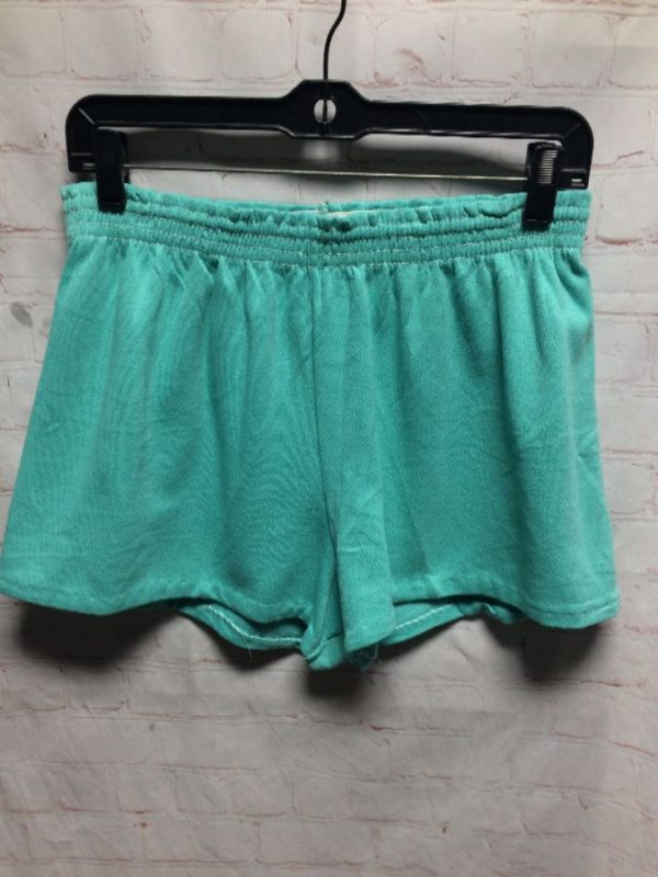 REALLY SOFT SPORTY COTTON SHORTS W/ ELASTIC WAIST