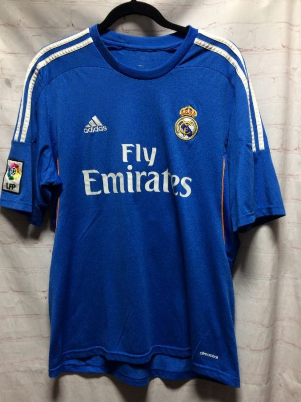 product details: SOCCER JERSEY W/ FLY EMIRATES & EMBROIDERED ADIDAS LOGO photo