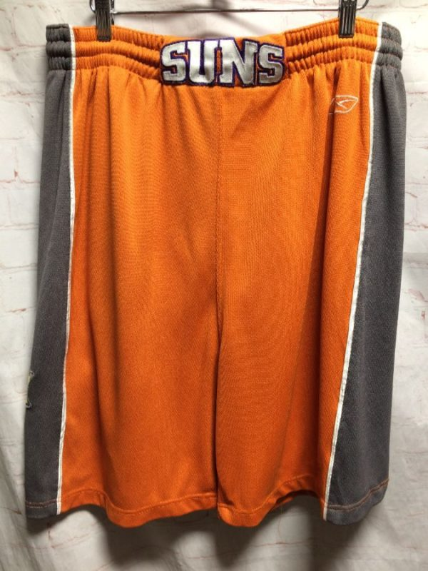 product details: REEBOK BASKETBALL SHORTS NBA PHOENIX SUNS photo