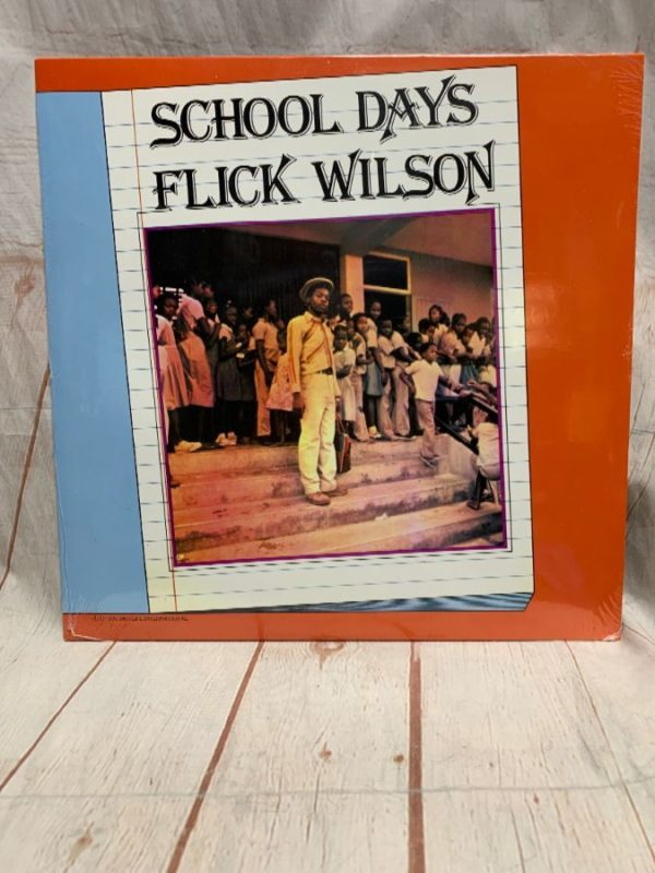 product details: BW VINYL RECORD - SCHOOL DAYS - FLICK WILSON photo