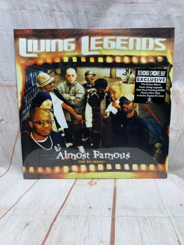 product details: LIVINGS LEGENDS - ALMOST FAMOUS VINYL RECORD photo