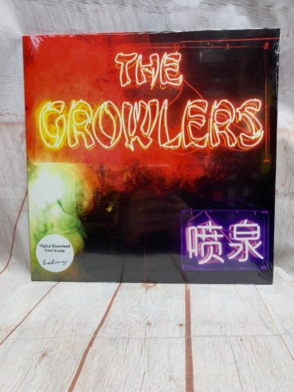 product details: BW VINYL The Growlers photo