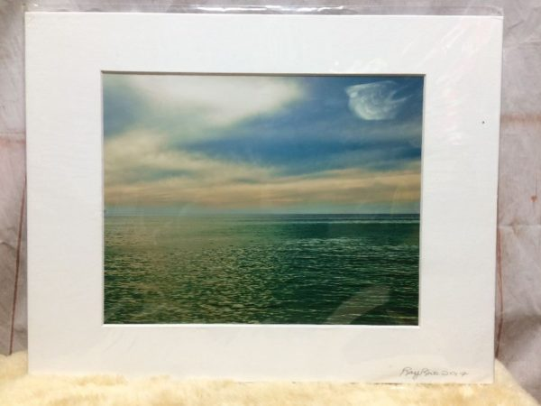 product details: VENICE BLUE SKIES OCEAN SCENE MOUNTED PHOTOGRAPH photo