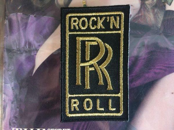 ROCK N ROLL ROLLS ROYCE PATCH