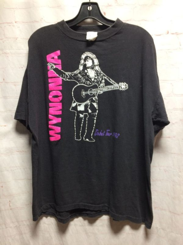 WYNONNA JUDD BAND 1992 DEBUT TOUR COTTON GRAPHIC T-SHIRT
