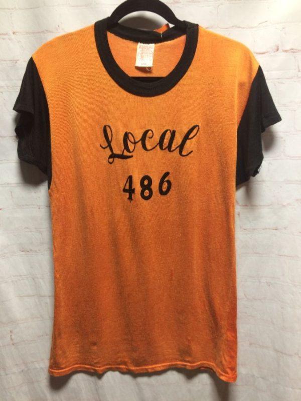 RETRO JERSEY CHAIN STITCHED LOCAL 486