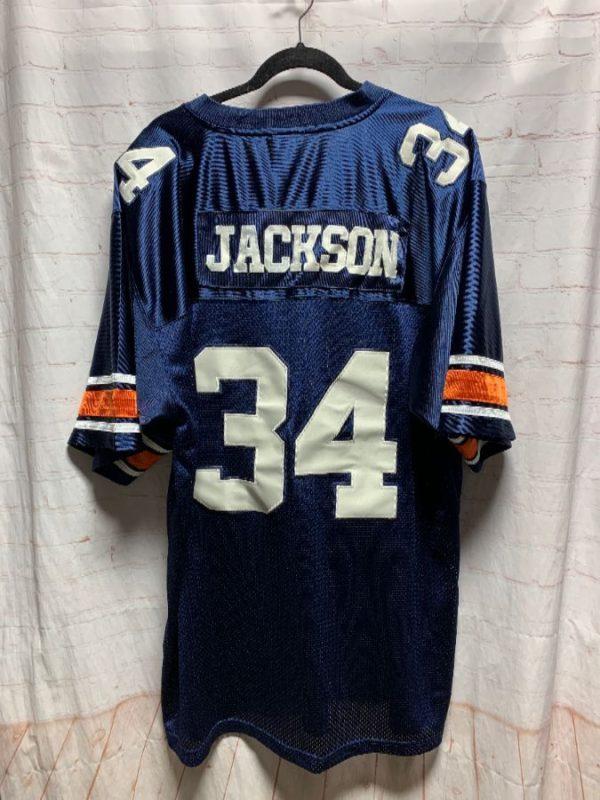 NCAA AUBURN BO JACKSON #34 FOOTBALL JERSEY