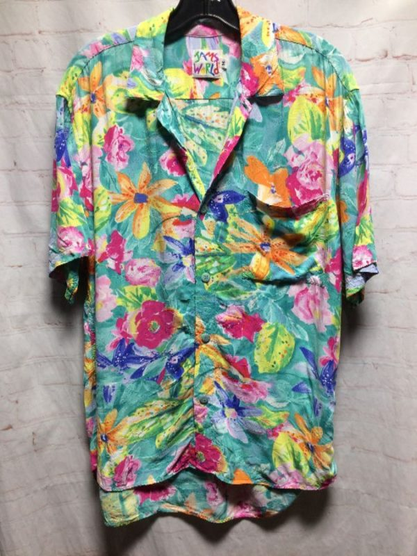 product details: JAMS WORLD PASTEL PRINTED RAYON TOP SS BD photo