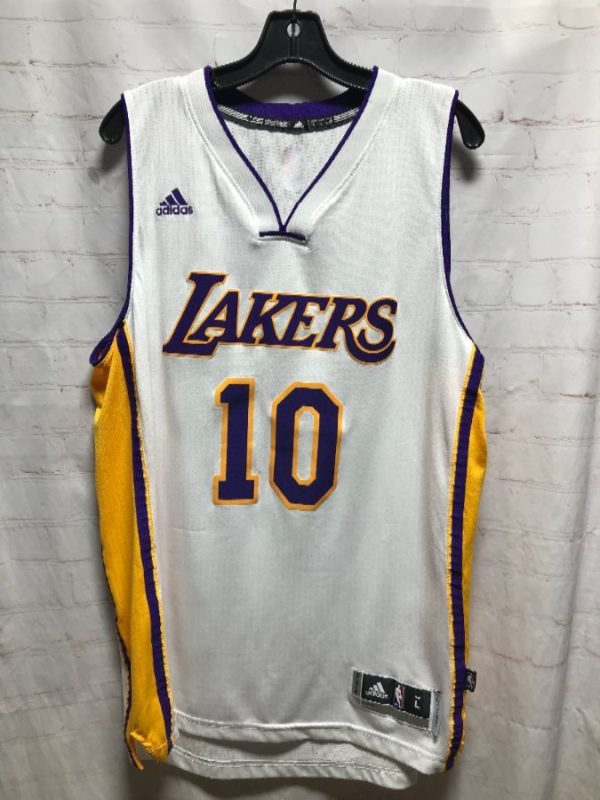 product details: ADIDAS LOS ANGELES LAKERS #10 NASH BASKETBALL JERSEY photo