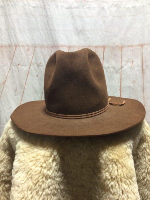 VINTAGE WESTERN ROPER COWBOY HAT