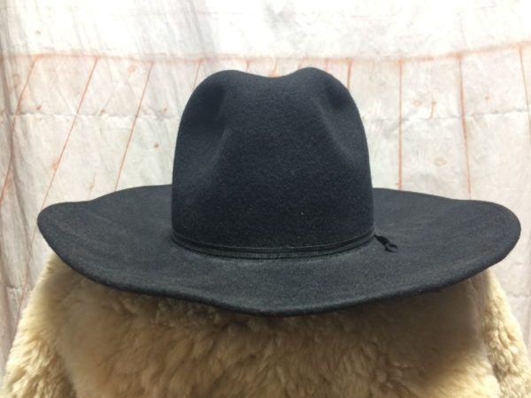product details: VINTAGE ROCKMOUNT WIDE BRIMMED WOOL COWBOY HAT photo