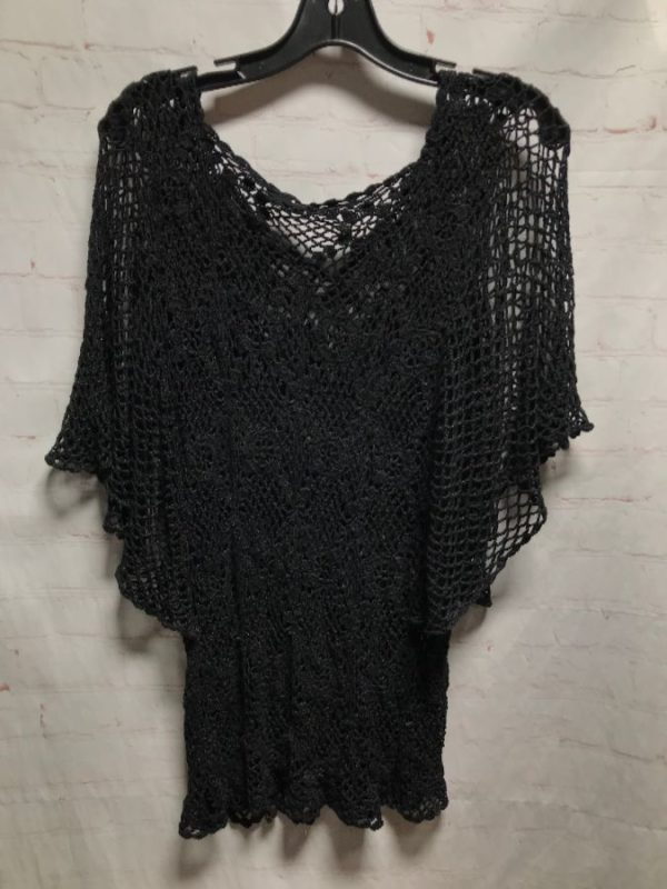 product details: 1990'S BOHO STYLE CROCHET COVER-UP SUPER SOFT TOP photo