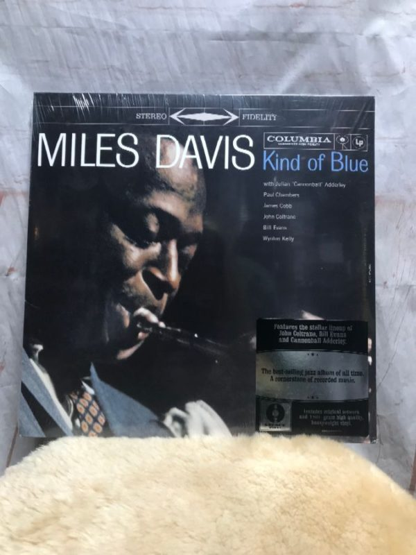 product details: BW VINYL MILES DAVIS - KIND OF BLUE photo