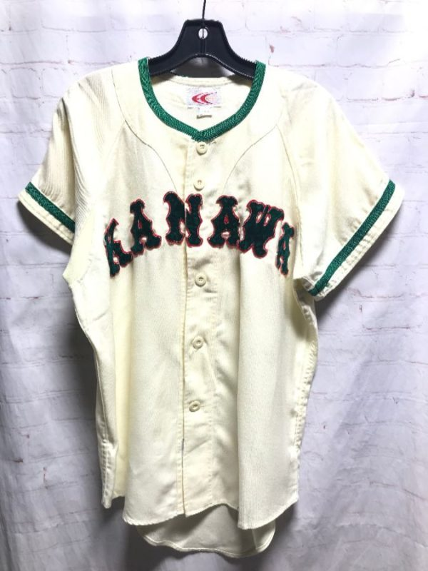 product details: KANAWA #6 COTTON JAPANESE BASEBALL JERSEY photo