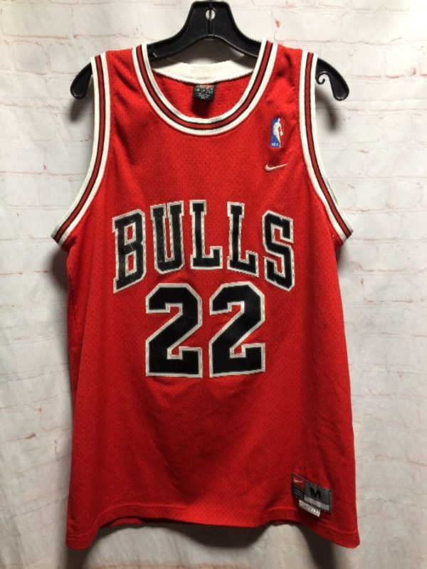 product details: CHICAGO BULLS #22 WILLIAMS BASKETBALL JERSEY photo