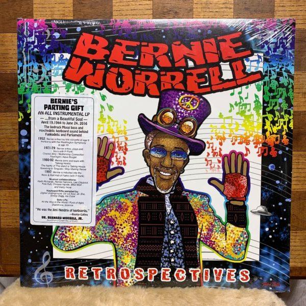 product details: VINYL RECORD - BERNIE WORRELL - RETROSPECTIVES photo