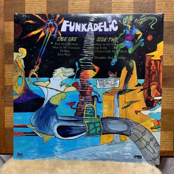 product details: VINYL RECORD - FUNKADELIC - STANDING ON THE VERGE OF GETTING IT ON photo