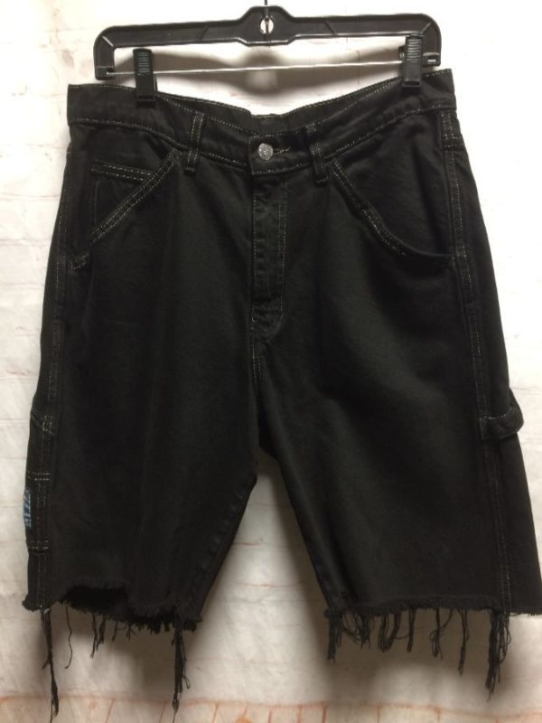 VINTAGE LEVIS DISTRESSED DENIM SHORTS