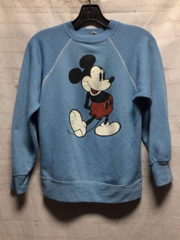 product details: RETRO DISNEY SUPER COZY MICKEY MOUSE GRAPHIC PULLOVER SWEATSHIRT photo