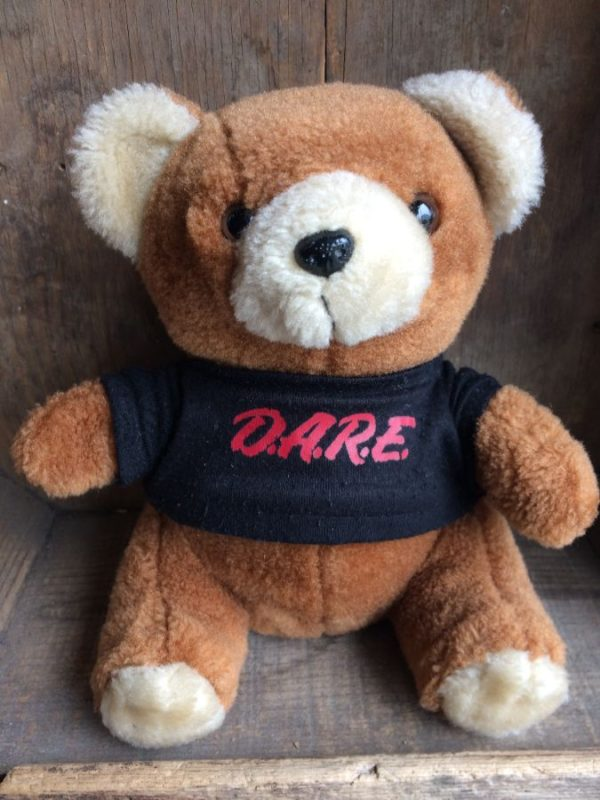 product details: TEDDY BEAR W/ LITTLE D.A.R.E. T-SHIRT photo