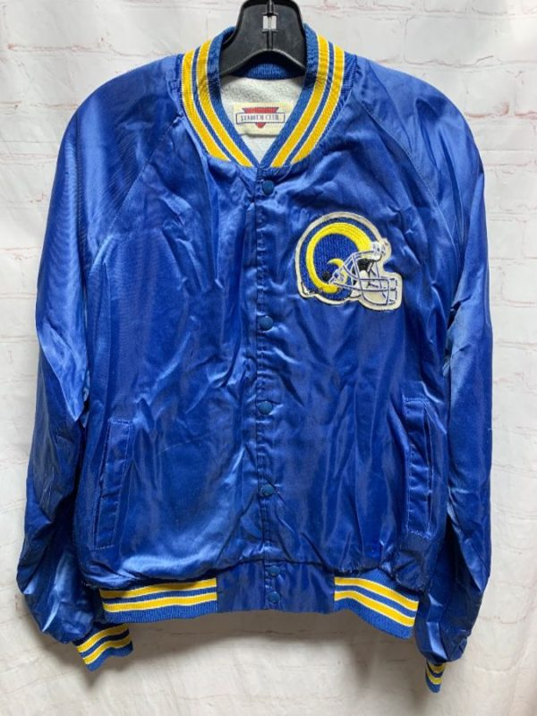 product details: NFL LOS ANGELES RAMS SATIN SPORTS JACKET photo