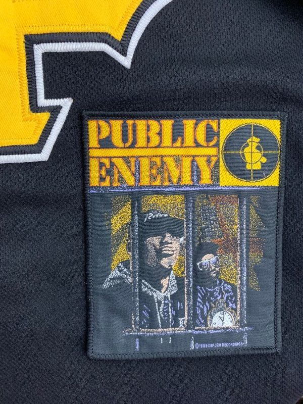 1985 PUBLIC ENEMY & NATION OF MILLIONS ALBUM COVER SEW-ON PATCH