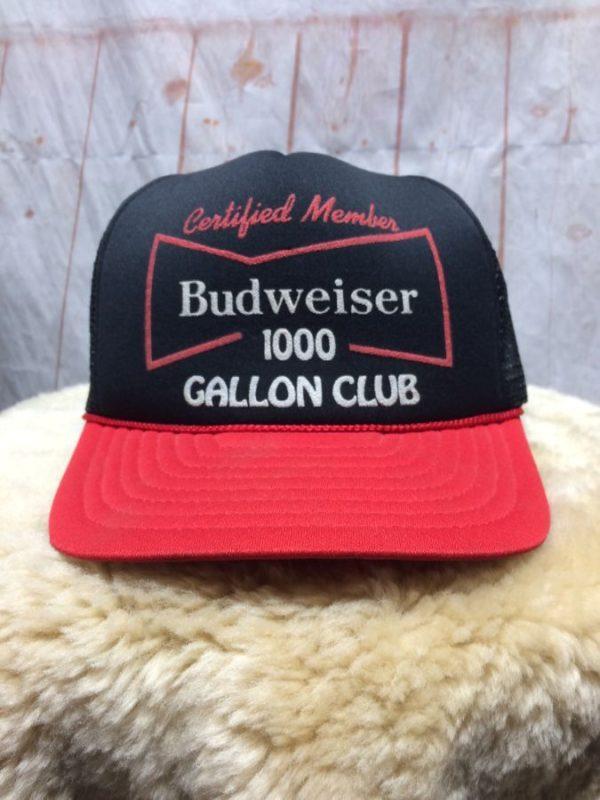 BUDWEISER 1000 GALLON CLUB CERTIFIED MEMBER SNAPBACK HAT