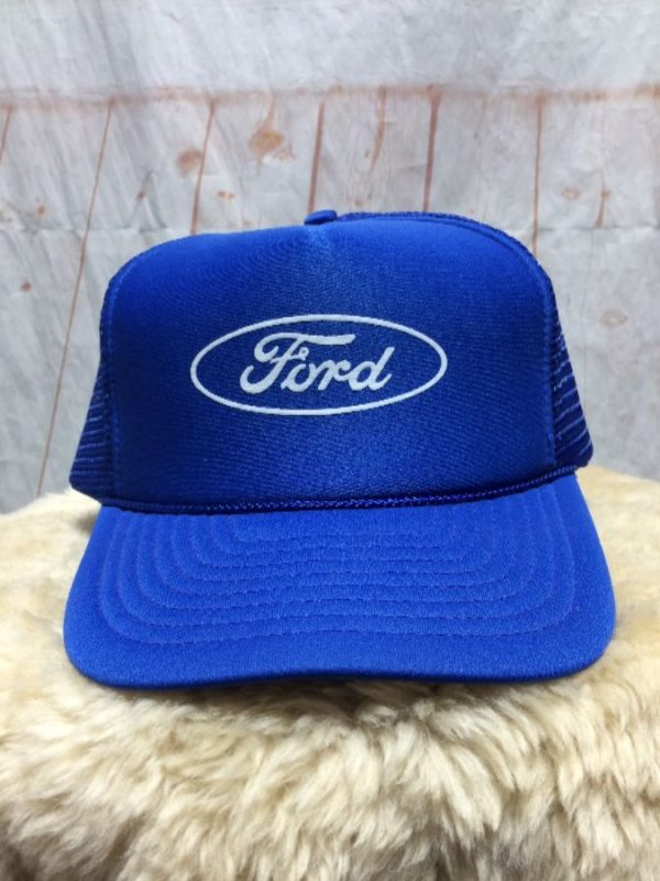 product details: 1980'S FORD OVAL LOGO W/ SNAP-BACK HAT photo