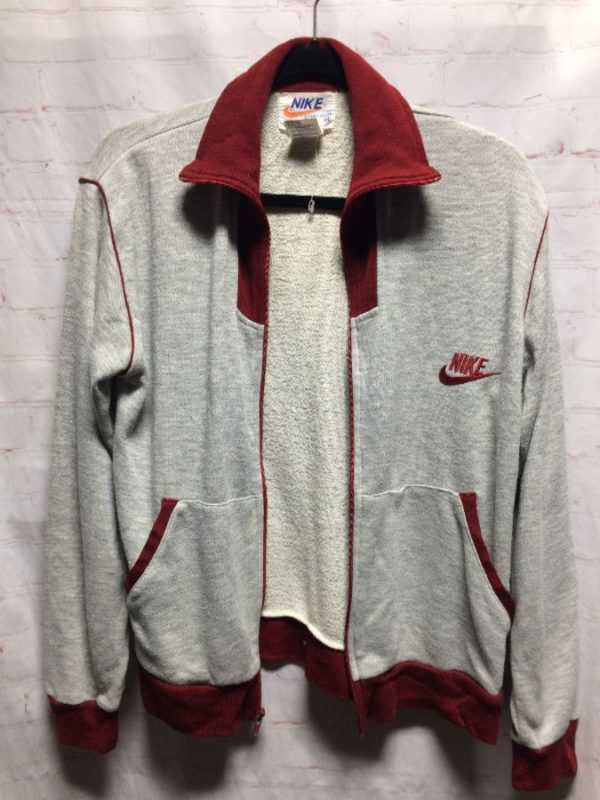 VINTAGE 1970'S RETRO NIKE ZIP-UP JACKET