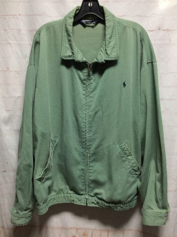 CLASSIC 1980'S-90'S TWILL POLO JACKET BY RALPH LAUREN