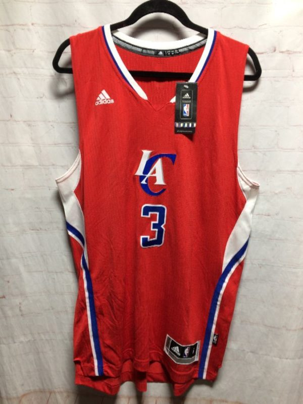 product details: LA CLIPPERS ADIDAS NBA CHRIS #3 BASKETBALL JERSEY photo