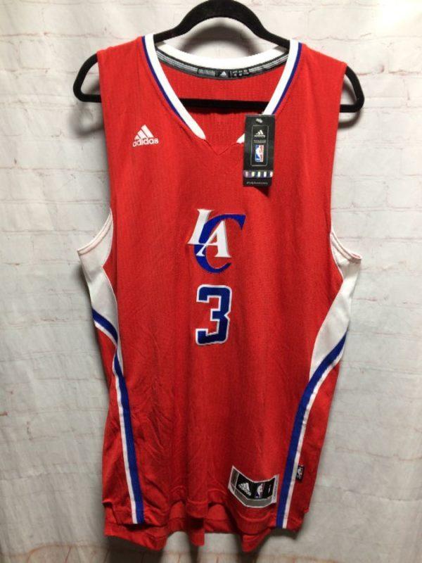 LA CLIPPERS ADIDAS NBA CHRIS #3 BASKETBALL JERSEY