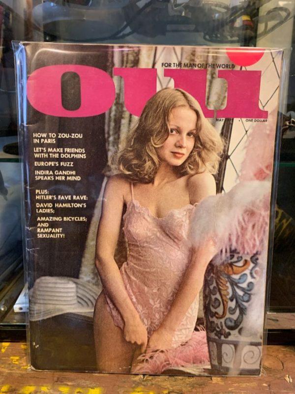 product details: VINTAGE OUI MEN'S MAGAZINE - MAY 1973 photo