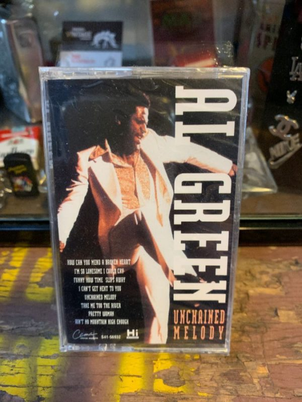 VINTAGE CASSETTE TAPE – AL GREEN – UNCHAINED MELODY